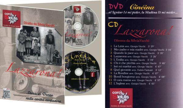 Lazzarona CD/DVD