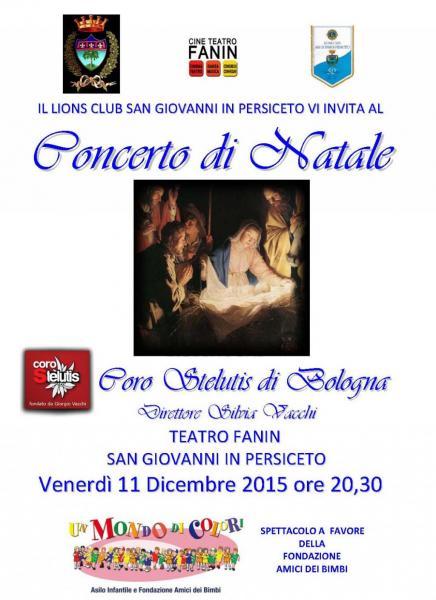 Concerto LION Teatro Fanin  S.Giovanni in Persiceto