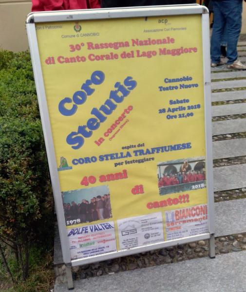 30^ Rassegna nazionale di canto corale del Lago Maggiore