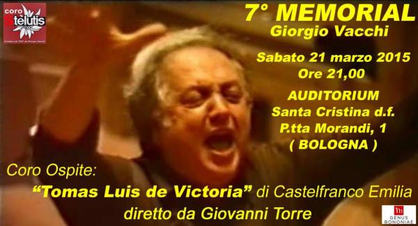 VII° MEMORIAL Giorgio Vacchi