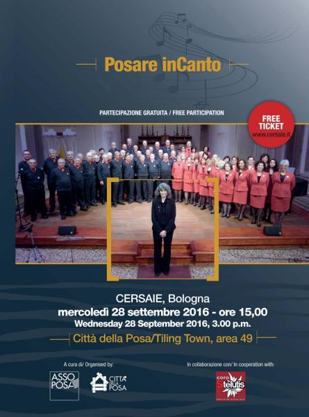 Posare InCanto Concerto al CERSAIE