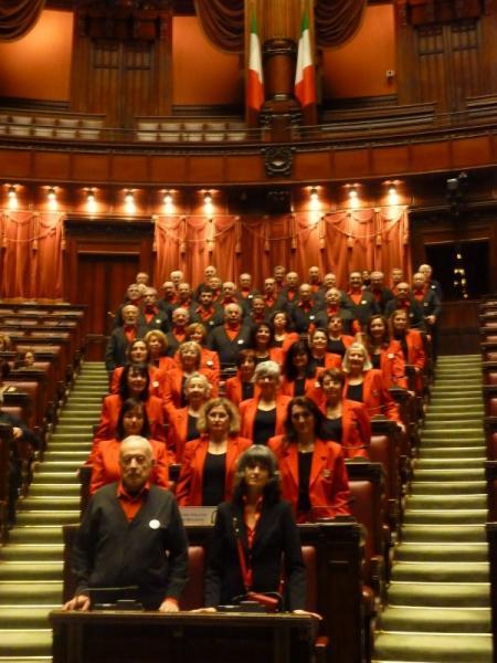 Roma montecitorio alla camera dei deputati coro stelutis for Camera dei deputati roma